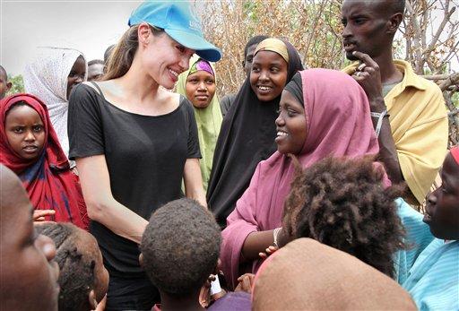 Kenya UN Angelina Jolie